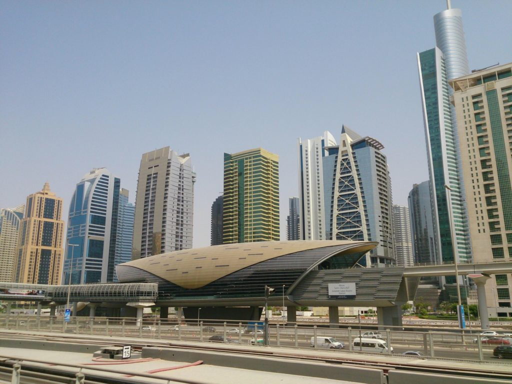 Район Дубай Марина - Dubai Marina - Станция метро