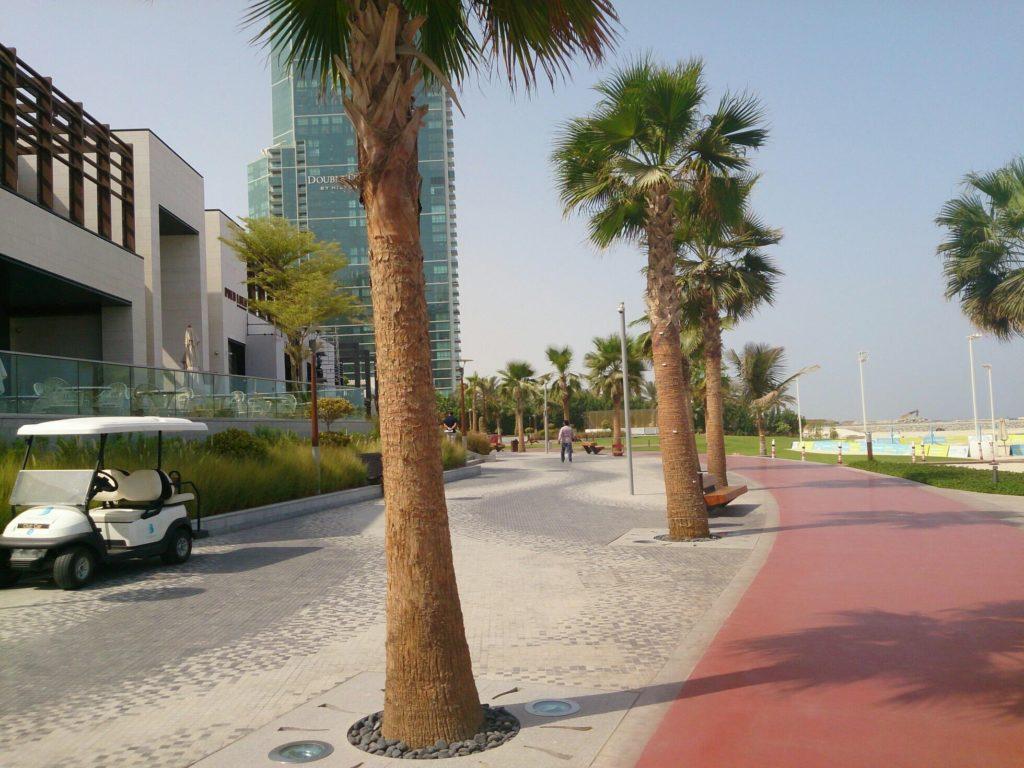 Район Дубай Марина - Dubai Marina - Пляж JBR