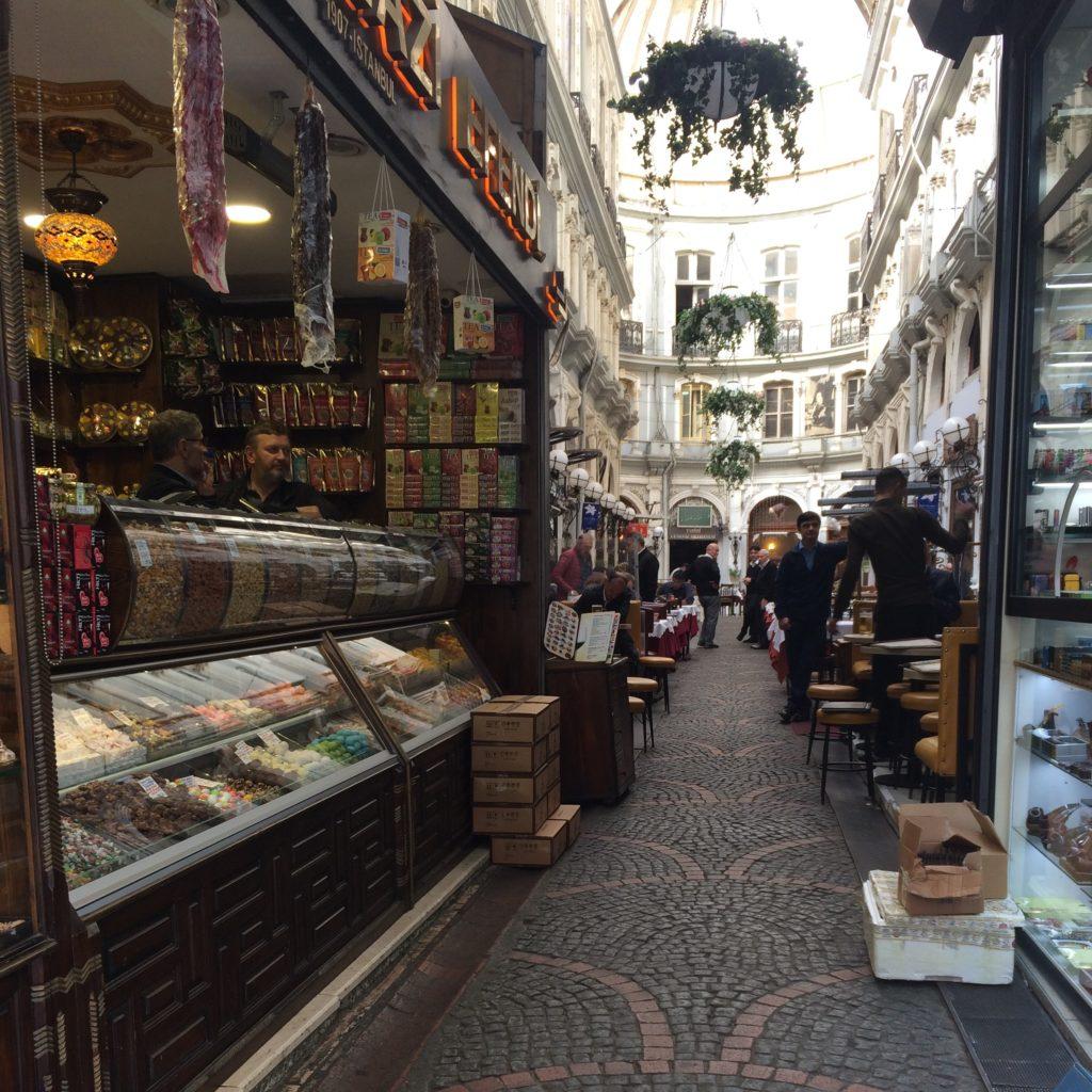 Восточные сладости в Стамбуле - Стамбул