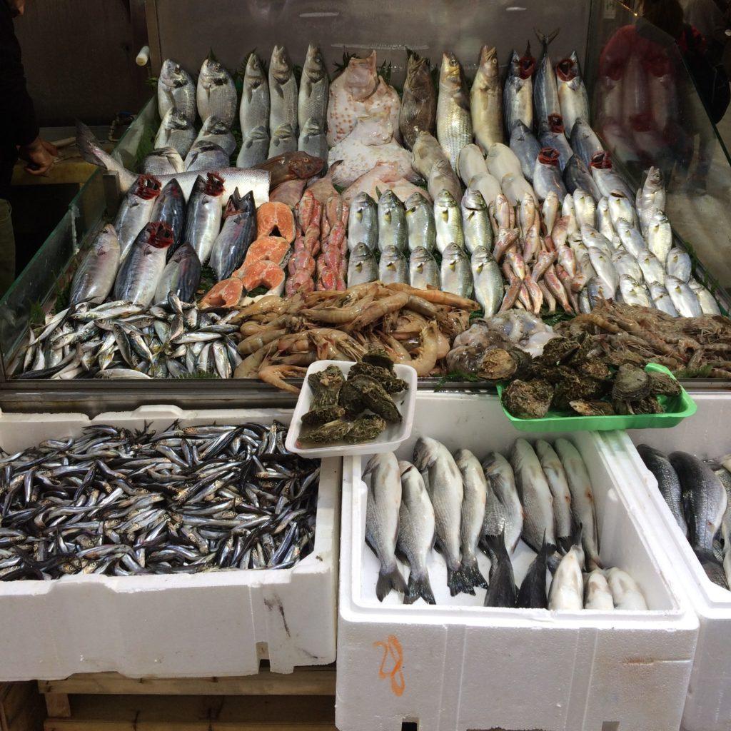Еда в Стамбуле - Рыба