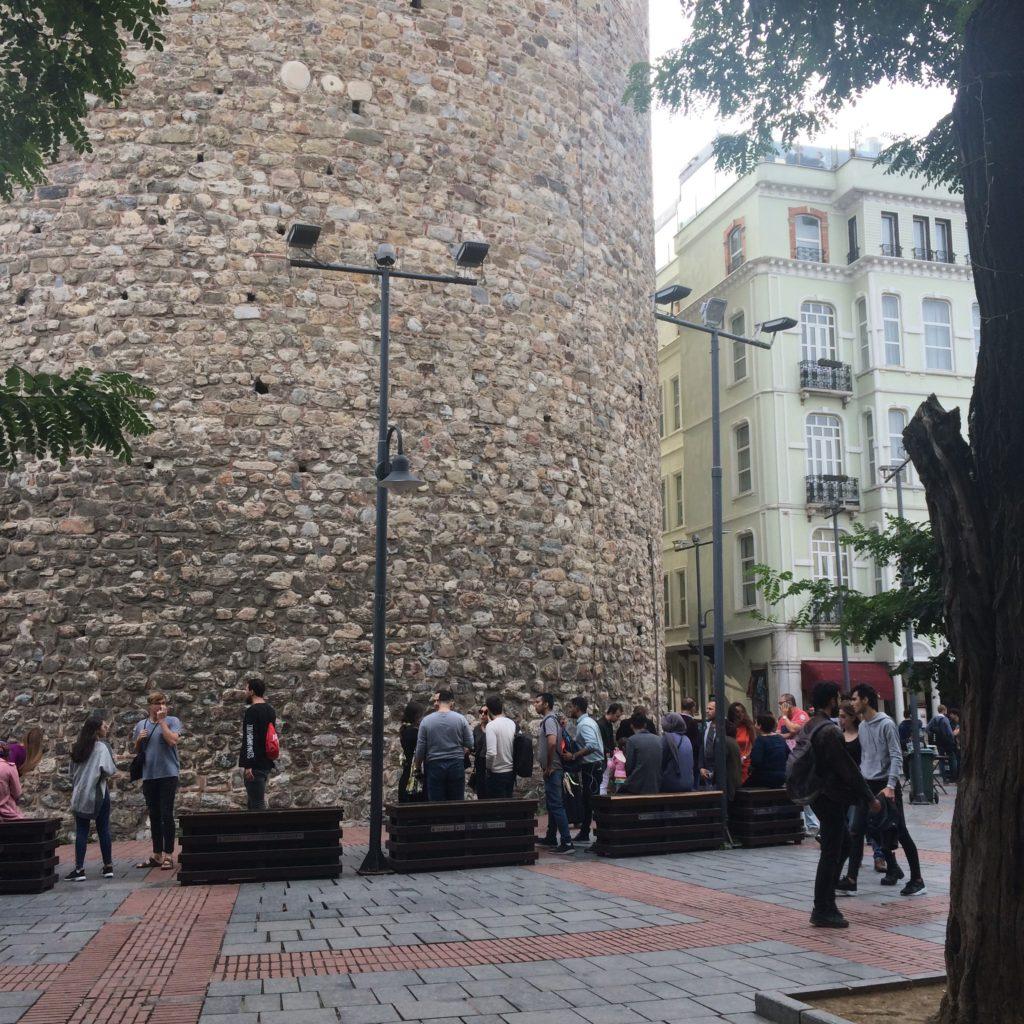 Галатская башня в Стамбуле - Istanbul Galata Tower