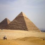 Большой Сфинкс и пирамиды Гизы