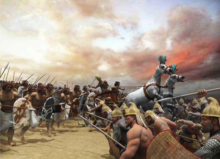 Битва при Кадеше, Египет