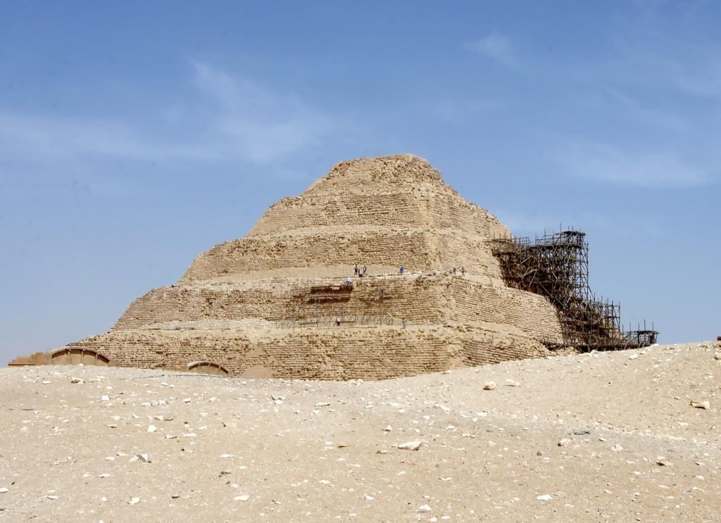 Комплекс пирамид в Саккаре